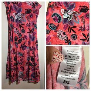 LulaRoe 3XL Maxi skirt